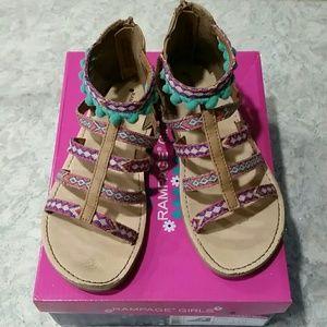 Tribal Print Sandals